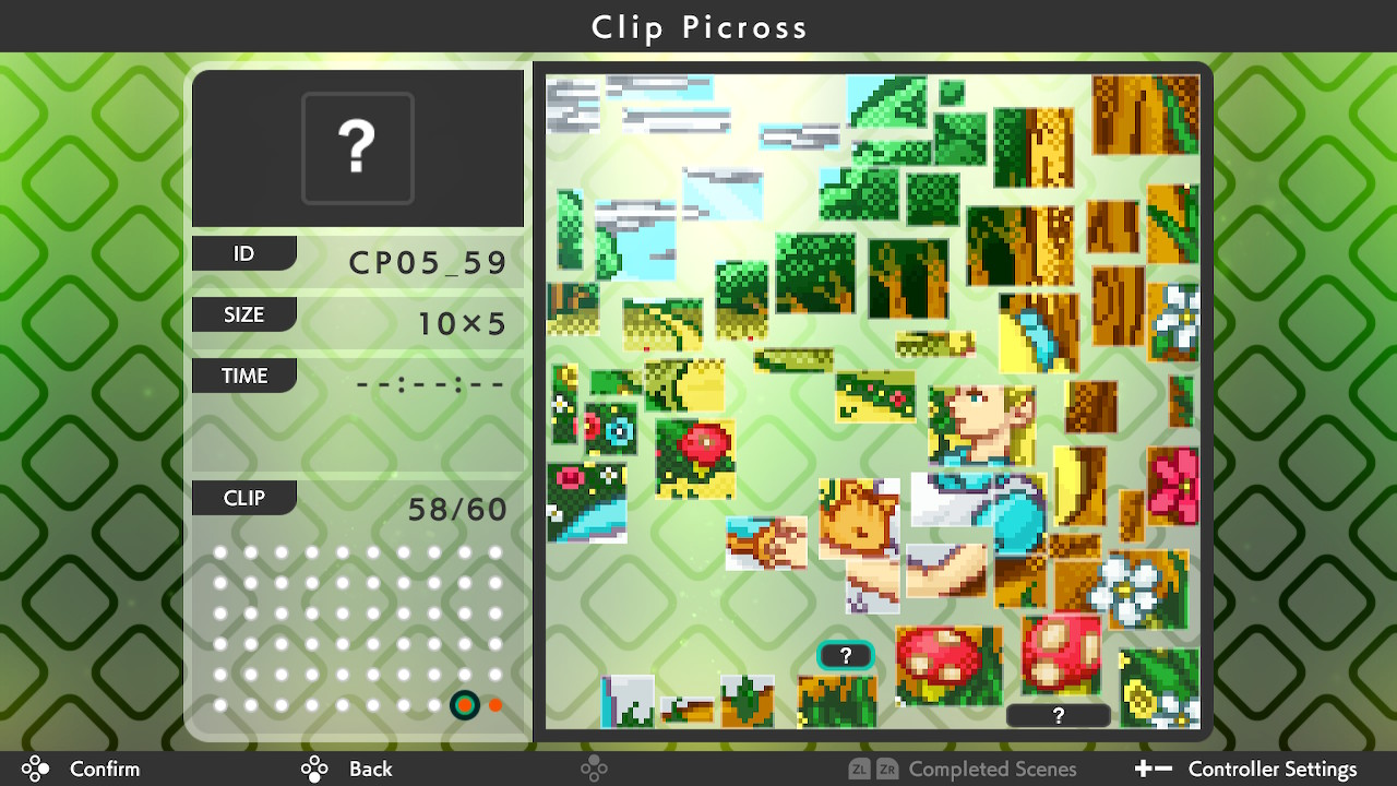 Picross S3 (Switch): COMPLETED!
