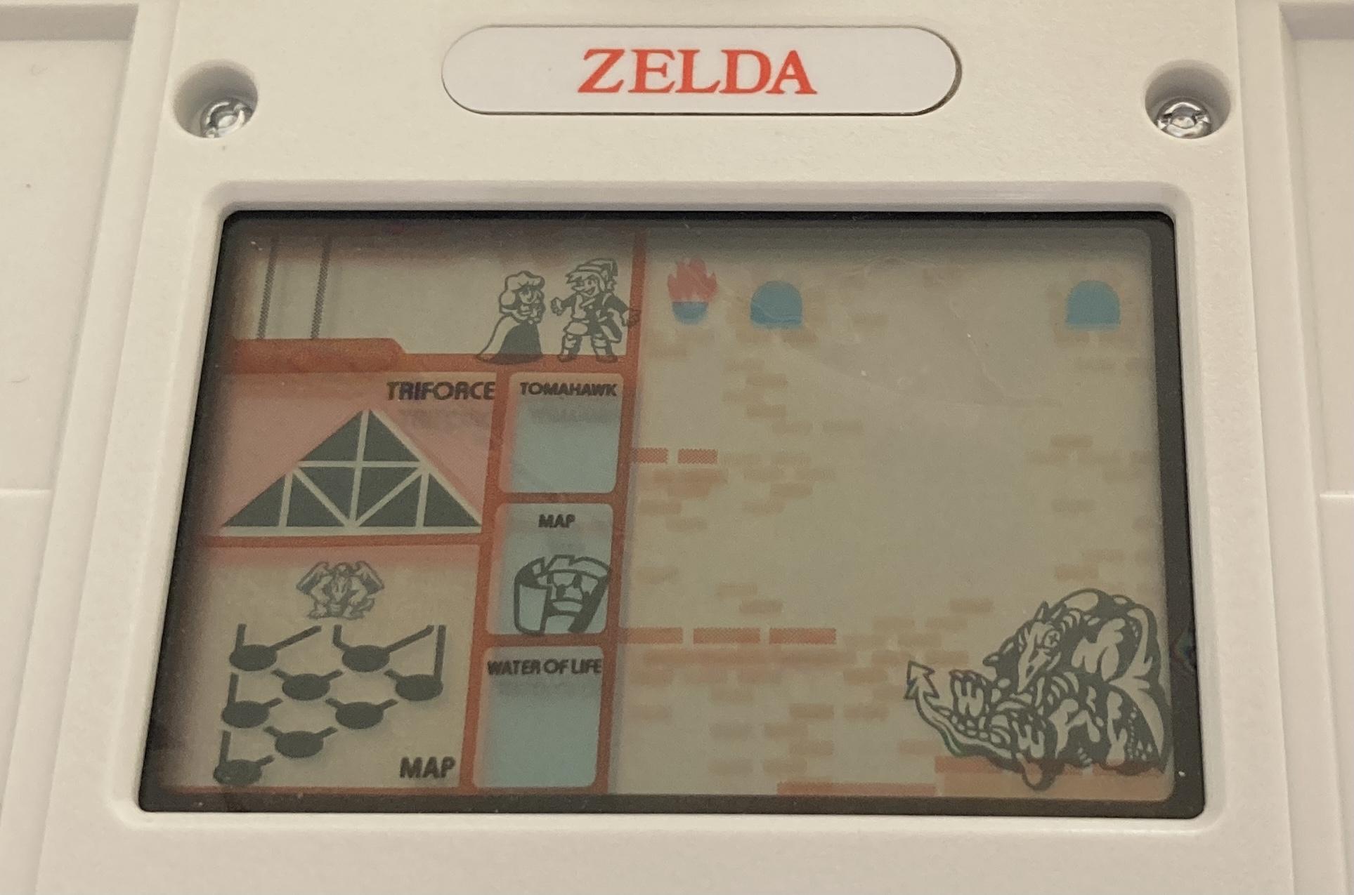 Zelda (Game & Watch): COMPLETED!