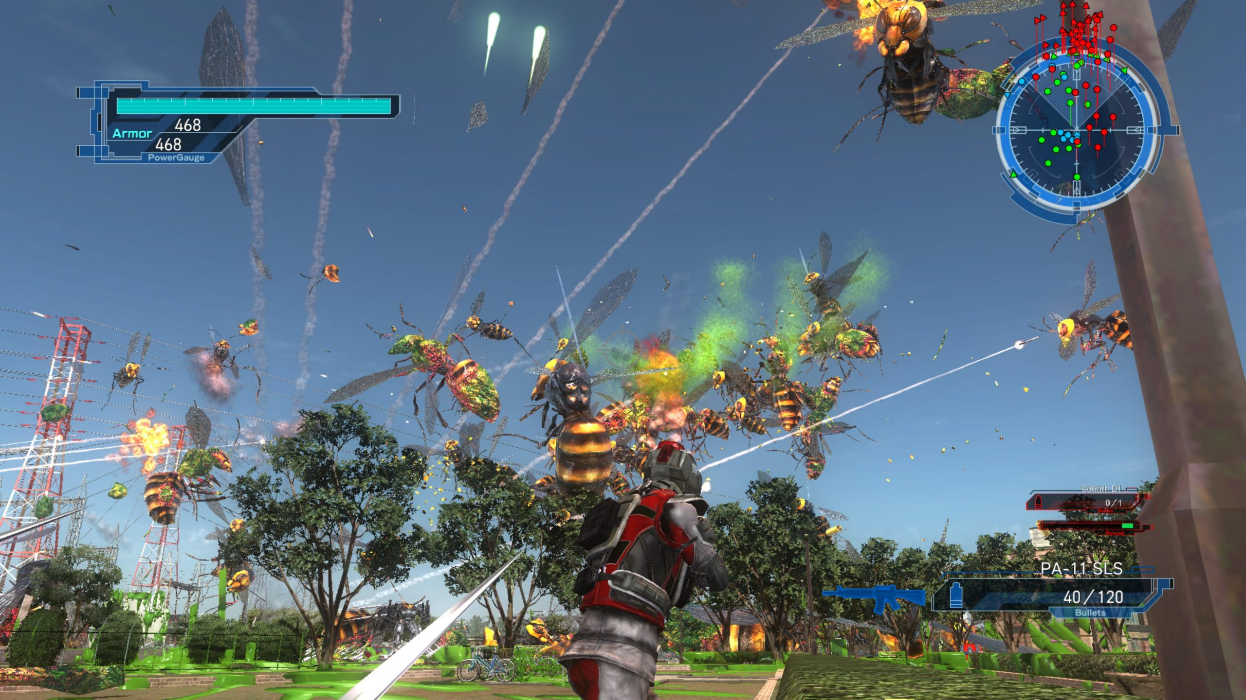 Earth Defense Force 5 (PS5): COMPLETED!